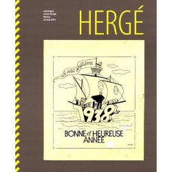 Auction catalogue Rops Hergé in Namur 2011 Tintin (24249)