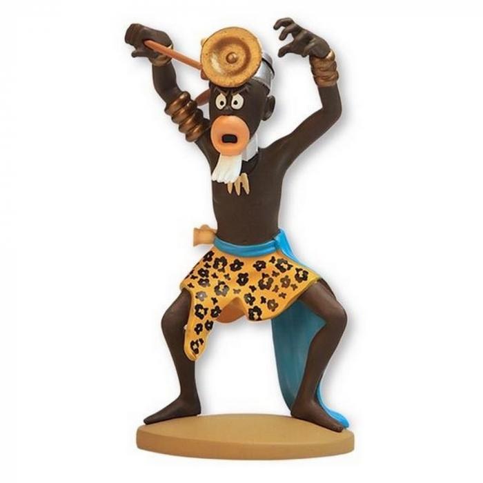 Collectible figurine Tintin The Muganga Sorcerer Moulinsart 42225 (2015)
