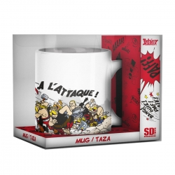 Porcelain mug SD Toys Astérix (The Attack)