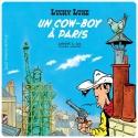 Lucky Luke Coaster 10x10cm (Un cowboy à Paris)