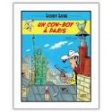 Poster offset Lucky Luke, Un cowboy à Paris (28x35,5cm)