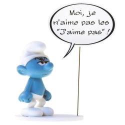 """Figura de colección Plastoy: Je n'aime pas les """"J'aime pas"""" ! 00143 (2019)"""