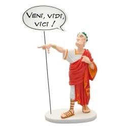 Collectible figure Plastoy Astérix, Caesar Veni Vidi Vici 00132 (2019)