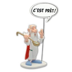 Collectible figure Plastoy Astérix, Getafix c'est prêt ! 00133 (2019)
