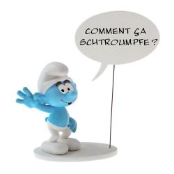 Figurine Plastoy: Le Schtroumpf  Comment ça Schtroumpf! 146 (2018)
