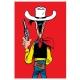 Postcard Lucky Luke: Ready to shoot (10x15cm)