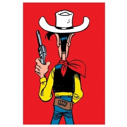 Carte postale de Lucky Luke: Prêt à tirer (10x15cm)