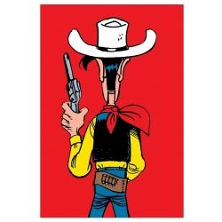 Postal de Lucky Luke: Listo para disparar (10x15cm)