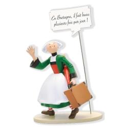 Figura de colección Plastoy Bécassine, En Bretagne... 00415 (2019)