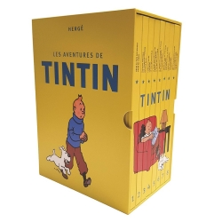 Collectible integral of the 24 albums of the adventures of Tintin (2018)