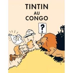 Postal del álbum de Tintín: Tintín en el Congo 300914 (10x15cm)