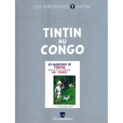 The archives Tintin Atlas: Tintin au Congo B/N, Moulinsart, Hergé FR (2013)