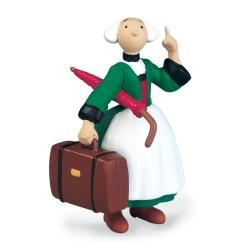 Figura de colección Plastoy: Bécassine llevando maleta y paraguas 61010 (2019)