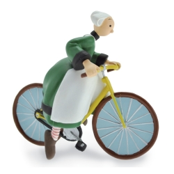 Collectible Figurine Plastoy: Bécassine on his bicycle 61016 (2019)