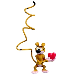 Collectible Figurine Plastoy The Marsupilami in love 65031 (2015)