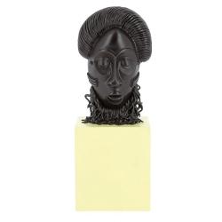 Figurine de collection Tintin Le masque Africain Moulinsart 14cm 46012 (2019)