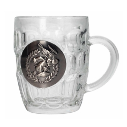 Glass mug SD Toys Asterix (Asterix metallic shield)