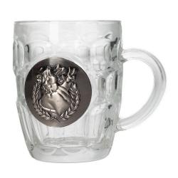 Taza mug en cristal SD Toys Astérix (Escudo metálico Obélix)