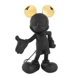 Estatua colección Leblon-Delienne Disney Mickey Mouse Life-Size (Negro-Dorado)