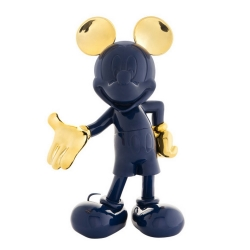 Estatua colección Leblon-Delienne Disney Mickey Mouse Life-Size (Azul-Dorado)