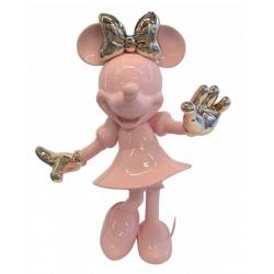 Estatua Leblon-Delienne Disney Minnie Mouse Life-Size (Rosa-Dorado)