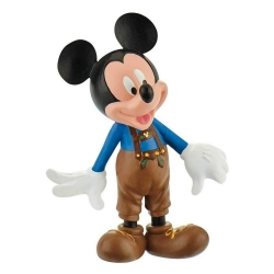 Figurine de collection Bully® Disney - Mickey Mouse avec costume Lederhose 15390