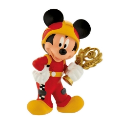 Figurita de colección Bully® Disney - Mickey Mouse piloto de carreras (15461)