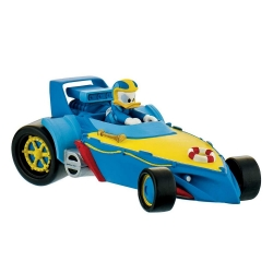 Figurita colección Bully® Disney - Pato Donald Duck pilotando su coche (15460)