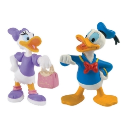 Figurita colección Bully® Disney - Pato Donald Duck y Pata Daisy Duck (15084)