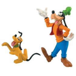 Figurine de collection Bully® Disney - Dingo et Pluto (15085)