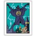 Poster offset Blake and Mortimer, The Yellow Mark 1953 (28x35,5cm)