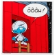 Comics enamel sign Coustoon The Smurfs The Cosmosmurf Ôôôh COUS32 (2014)
