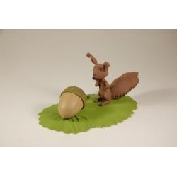 Figura de colección Fariboles Spirou y Fantasio: Spip la ardilla BEB (2016)