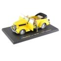 Blake and Mortimer Miniature Car Eligor, Yellow convertible Ford V8 Nº1 (1/43)