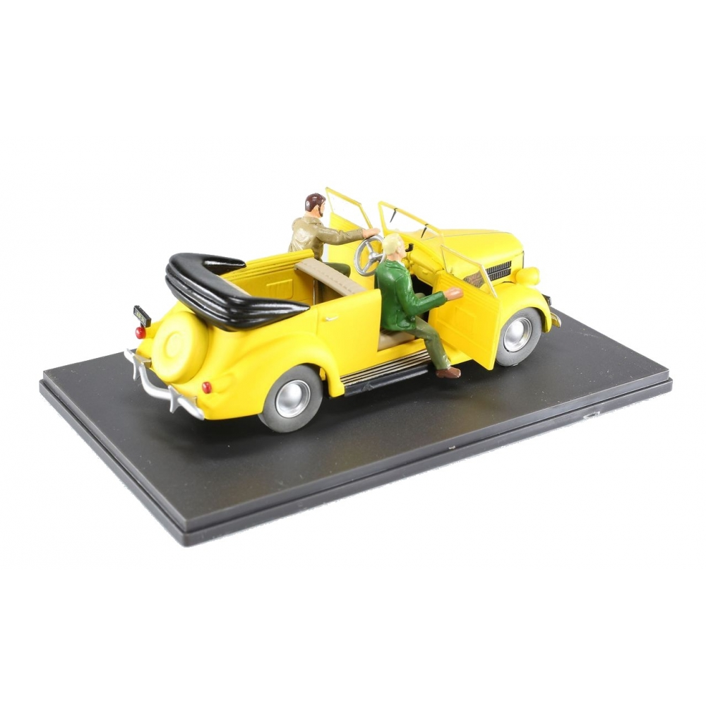 Voiture Et V8 Mortimer Jaune143Bd Blake Miniature Eligor Addik Ford Décapotable dxCrBoe