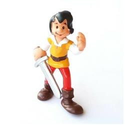 Figura Schleich® Los Pitufos - Johan con su espada (20498)
