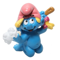 The Smurfs Schleich® Figure - Baby Smurfette in her bath (20448)