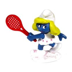 Figurine Schleich® Les Schtroumpfs - Schtroumpfette joueuse de Tennis (20135)