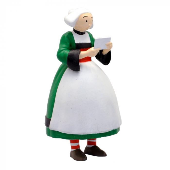 Collectible Figurine Plastoy: Bécassine carrying a postcard 61001 (2019)