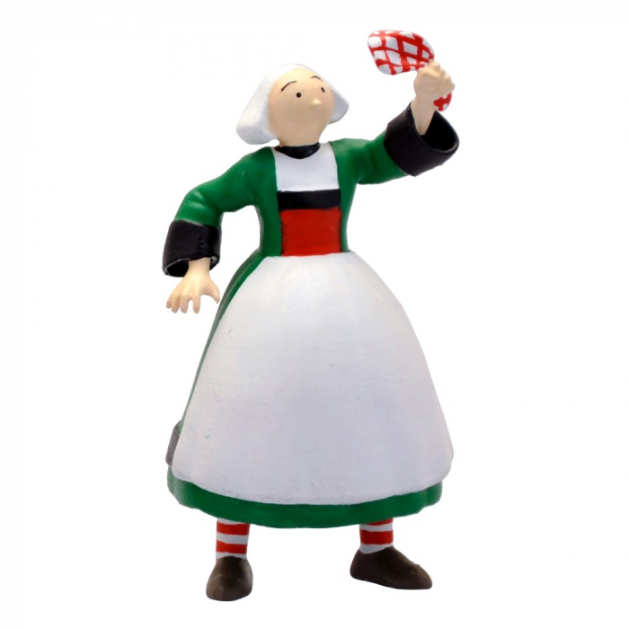 Collectible Figurine Plastoy: Bécassine carrying a tissue 61000 (2019)