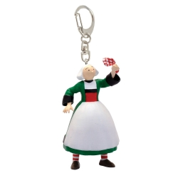 Keychain figure Plastoy Bécassine carrying a tissue 61079 (2019)