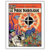 Poster offset Blake and Mortimer, Le Piège diabolique (28x35,5cm)
