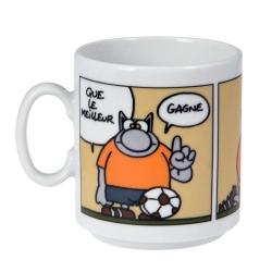 Taza mug en cerámica El Gato (Que le meilleur gagne)