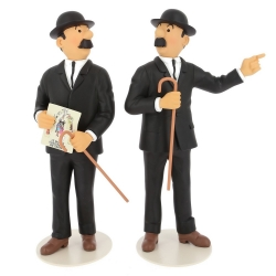 Figurine de collection Tintin Dupond et Dupont Moulinsart 25cm 46011 (2019)