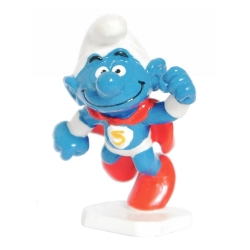 The Smurfs Schleich® Figure - The Superman Smurf (20119)