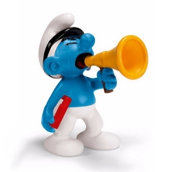 The Smurfs Schleich® Figure - The Smurf film producer (20715)