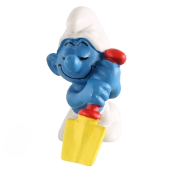 The Smurfs Schleich® Figure - The Smurf sleeping on his shovel (20043)