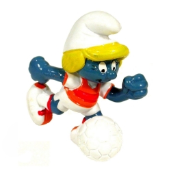 The Smurfs Schleich® Figure - Footballer Smurfette (20163)