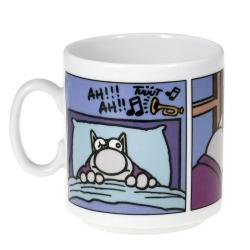 Tasse mug en céramique Le Chat, Café empêche de dormir (300ml)