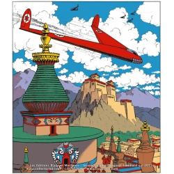 Plaque émaillée Coustoon Blake et Mortimer Le secret de l'Espadon COUS34 (2015)